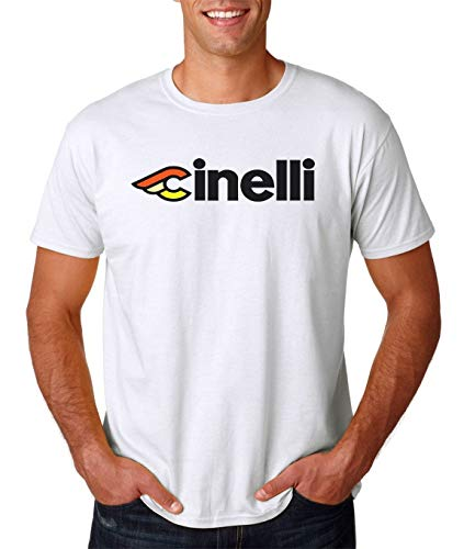 Cinelli Vintage Style Logo Men T-Shirt - Cycling Campagnolo Classic Retro