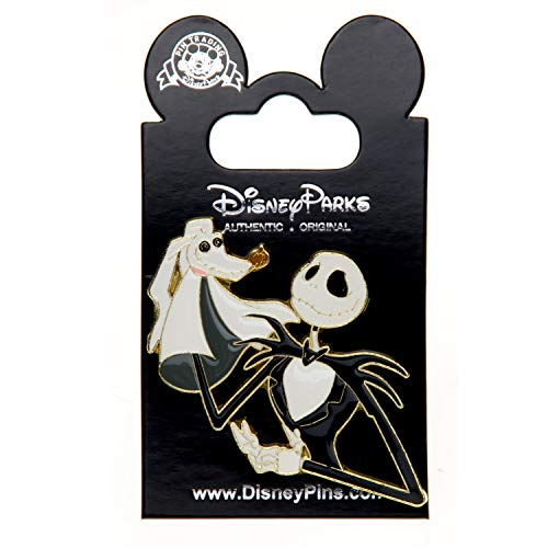 Disney Puppet Jack Skellington Zero Nightmare Before Christmas LE Pin