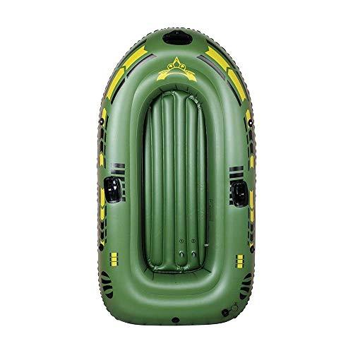SHKUU Kayak Inflable Engrosado Deportes acuáticos al Aire Libre 2 Personas Bote Inflable Pesca Bote Conjunto Kayak