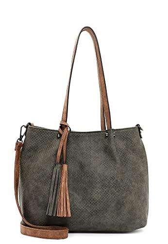 Emily & Noah Shopper Bag in Bag Surprise 33097 Damen Handtaschen Uni forest/cognac 964 One Size