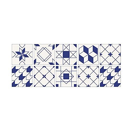 Azulejos 1Pack 15x15cm auto-adhesivo de etiquetas engomadas desprendibles, Tipo 003, 15x15cm