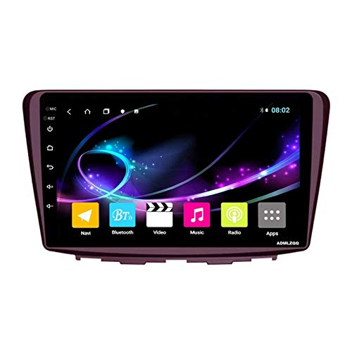 WY-CAR Navegación para Automóvil Estéreo Pantalla Táctil HD 2.5D De 9 Pulgadas para Suzuki Baleno 2015-2018, GPS/FM/Bluetooth/Controles del Volante/Enlace Espejo/Cámara De Visión Trasera