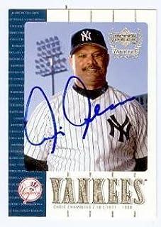 Chris Chambliss autographed baseball card (New York Yankees) 2000 Upper Deck Yankees Legends #34 - Autographed Baseball Cards