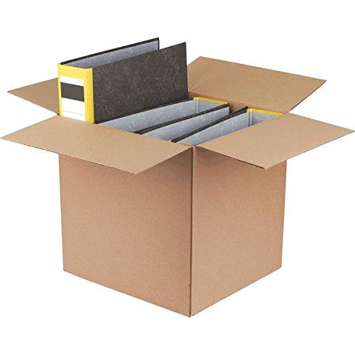 smartboxpro 212100410 Ordner-Versandkartons braun