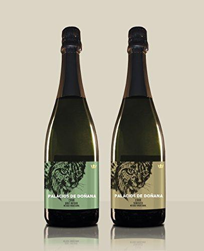 Pack 2 botellas de Cava - Cava Semiseco + Cava Brut Nature - Palacios de Doñana - D.O Condado de Huelva