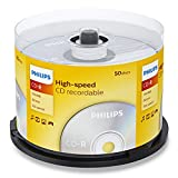 Philips Cd-R 80Min / 700 Mb / 52X Cakebox (50 Disc)