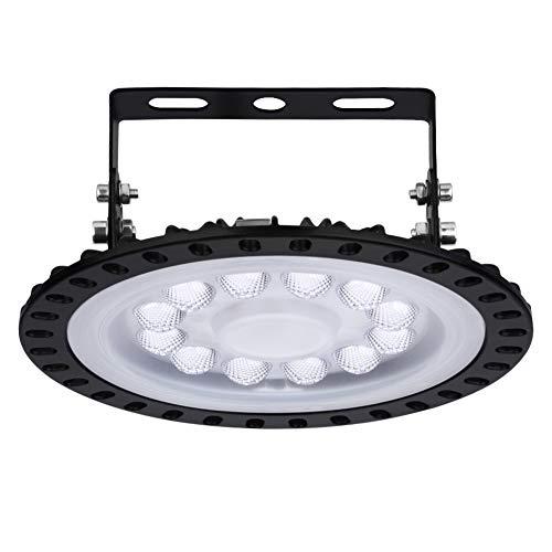 Naves Industriales,Blivrig 50W UFO Lámpara Alta Bahía,Campana LED Industrial,6500K Industrial LED Iluminación Comercial Impermeable IP65,para Fábricas,Aeropuerto,Patio,Restaurante(1 PACK, 50W)