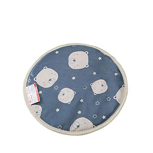 NINIWA Almohadilla de calefacción para mascotas con diseño de oso, impermeable, para perros y gatos