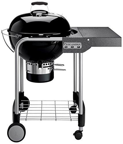 Weber 1401504 Performer Original Gourmet - Barbacoa de carbón (57 cm), Color Negro