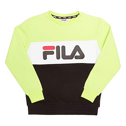 Fila Kids Night Blocked Felpa Verde da Bambino 688093-A463 - Verde - 18 meses
