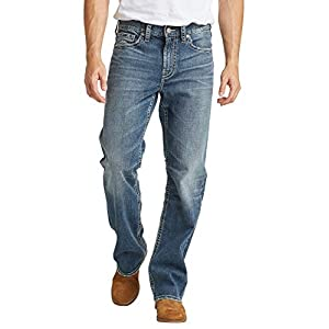 Silver Jeans Co. Men's  Easy Fit Bootcut Jeans