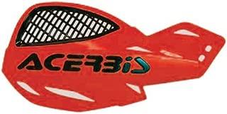 Acerbis 2072670004 vented uniko handguards (red) (2072670004)