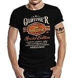 Geschenk T-Shirt zur Rente und zum Ruhestand: Oldtimer L