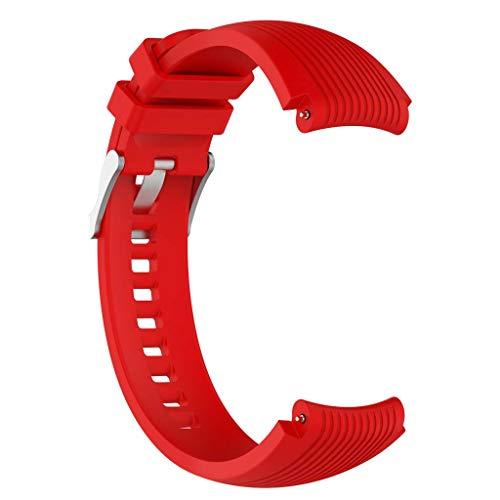gszfsm001 - Correa de Silicona para Reloj Samsung Galaxy Watch 46 mm Gear S3 Frontier/Classic Gear 2 R380 (22 mm)