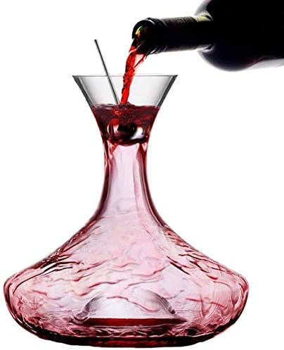 Wine Decanter Carafe San Diego Mall With 5 ☆ popular Stopper Stainless Steel