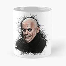 Uncle Fester Addams Family Christopher Lloyd -11 Oz Large Funny Coffee Mug.