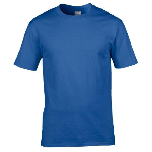 Gildan Premium T-Shirt für Männer (2XL) (Königsblau) XXL,Königsblau