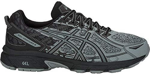 Asics - Gel-Venture 6 - Zapatillas deportivas de hombre para correr, Gris (gris piedra/gris piedra.), 43 EU
