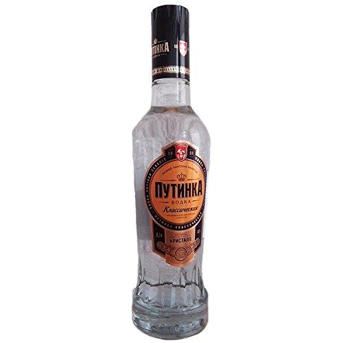 Vodka Putinka Klassik 0,5L echter russischer Wodka