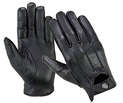 guanti in pelle moto Guanti da guida da uomo