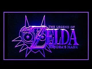 The Legend Of Zelda Majora's Mask Display Led Light Sign