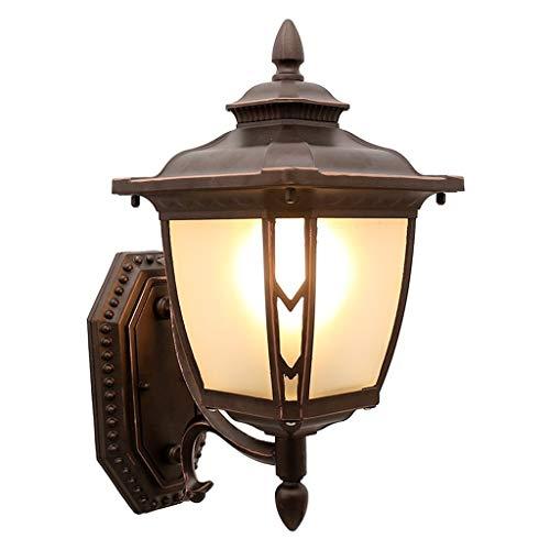 WYBFZTT-188 Lámpara de Pared Impermeable al Aire Libre LED Lámpara de Pared de jardín Balcón Lámpara de Pared de Pasillo Lámpara de Pared Externa de Escalera Lámpara de Pared de terraza