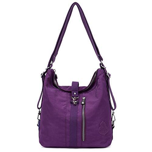 Outreo Schultertasche Wasserdichte Messenger Bag Umhängetasche Damen Handtasche Designer Kuriertasche Rucksäcke Strandtasche Sporttasche für Mädchen Taschen Reisetasche Nylon