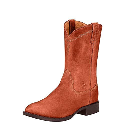 Ariat Men's Heritage Roper Western Boot, Naturally Cognac, 13 D US