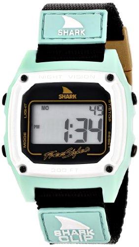 Freestyle Men's 103326 Shark Classic Clip Digital Display Japanese Quartz Black Watch