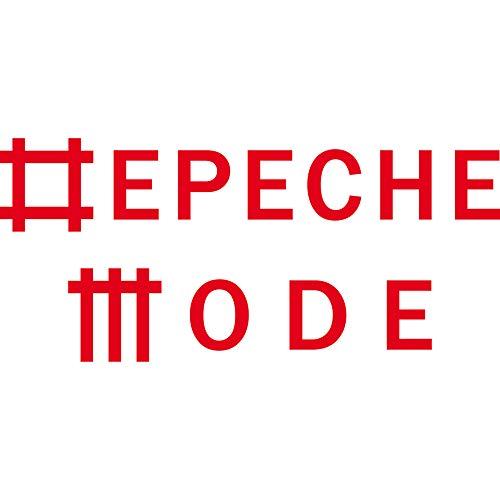 Aufkleber Tattoo Universe rot L Schriftzug Auto Fenster Tür Heck Motorhaube Depeche Mode