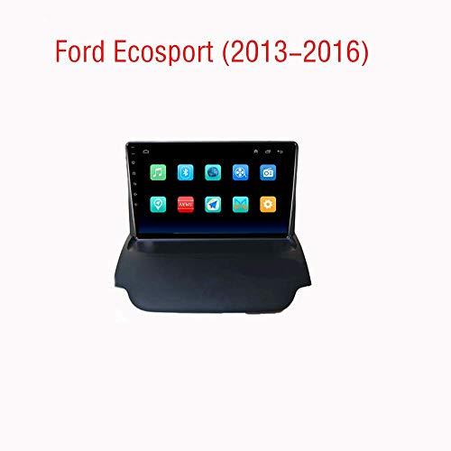 Hahaiyu 9 Pollici autoradio Android 8.1 Radio navigatore GPS per Ford Ecosport (2013-2016) Touch Screen Capacitivo, Navigazione, WiFi, BT, Specchio Link, Altre funzioni (1G + 16G)