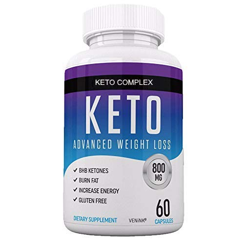 Best Keto Diet Pills - Weight Loss Supplement for Women and Men - Burn Fat Instead of Carbs - Carb Blocker - Ketosis BHB Exogenous Ketones - Keto Pills Weight Loss - 60 Capsules