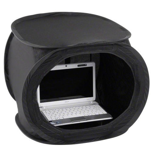 Walimex Pop-Up Laptop-Zelt (50x50x50 cm) schwarz