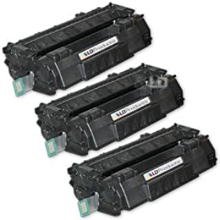 LD © Remanufactured Replacement Laser Toner Cartridges for Hewlett Packard Q5949A (HP 49A) Black (3 Pack) for use in the LaserJet 1160, LaserJet 3390 All-in-One, LaserJet 1320nw, LaserJet 1320tn, LaserJet 1160Le, LaserJet 1320, LaserJet 3392 All-in-One, LaserJet 1320n, LaserJet 1320t Printers