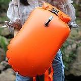 S-TROUBLE Reise-Geldbörse Kartentasche Tactical EDC Tasche Camping Wandern wasserdichte Hüfttasche Fluoreszierendes Orange