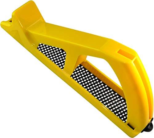 AERZETIX - Cepilladora/Rallador para Placa de Yeso 250x40mm Universal - Herramienta Manual Abrasiva para alisar Cartón yeso/Placa de Yeso - Limar/Raspar/Cepillado - Mango de plástico - C45991