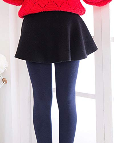 Runyue Leggings para Niñas Pantalones Térmico Cintura Elástica ...