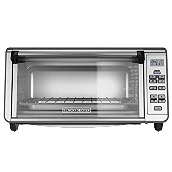 Black+Decker TO3290XSBD Toaster Oven 8-Slice Stainless Steel