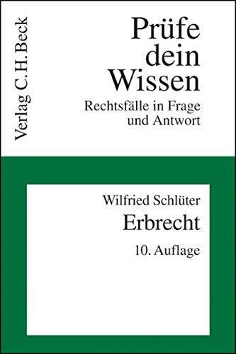 Price comparison product image Bürgerliches Gesetzbuch ( BGB). Erbrecht: Rechtsfälle in Frage und Antwort. Rechtsstand: März 2007