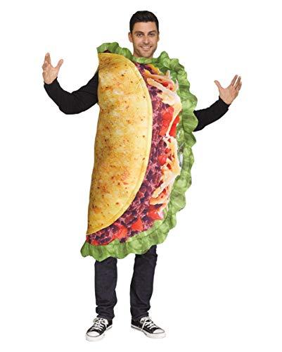 Horror-Shop Taco Unisex Kostüm für Erwachsene