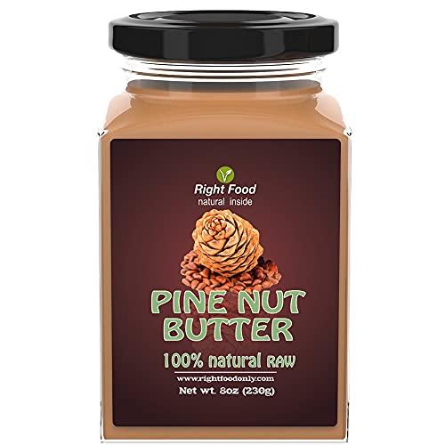 Crema de Piñones 230 gr | Mantequilla de Frutos Secos Cruda Prensada en Frío | Sin Azúcares Añadidos...