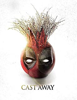 Wade Wilson/ Coconut Wilson... Coincidence? I Think Not - Cast Away with Exclusive Slipcover