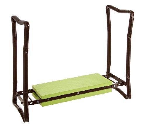 Dehner 5324777 Knie- und Sitzhilfe, für Arbeiten rund um Haus und Garten, ca. 62.5 x 13 x 27 cm, grün