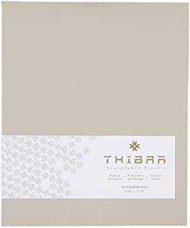 Thibra Thermoplastic | Reusable | Easy to Use Moldable Plastic Sheet | Ideal for cosplay, Hobby, Arts and Crafts | Size 10.8 X13.4