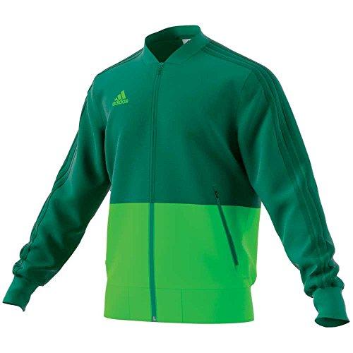 adidas Condivo 18 Jacket, Giacca Uomo, Verde (Verfue/Versol), L