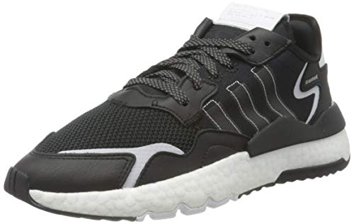adidas Nite Jogger, Scarpe da Corsa Uomo, Nero (Core Black/Core Black/Ftwr White), 44 EU