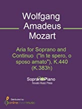 Aria for Soprano and Continuo  (