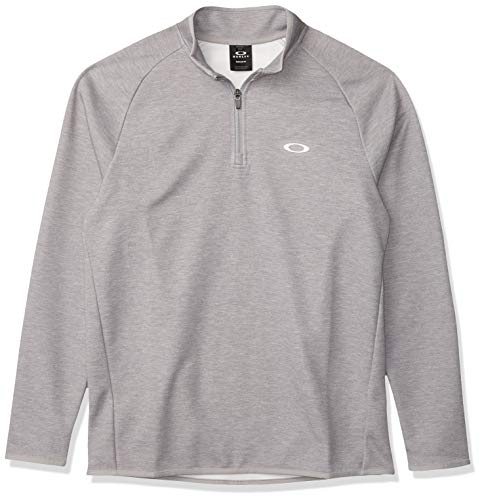 Oakley Men's Range Pullover 2.0, Fog Grey Heather, M
