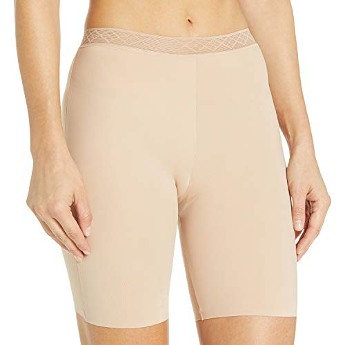 Vassarette Women's Invisibly Smooth Slip Short Panty 12385, Vass Latte, Small/5