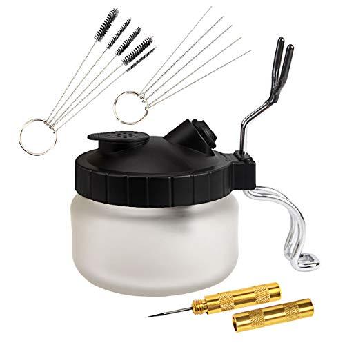 AHUNTTER Airbrush Cleaner Kit Airbrush Spray Gun Wash Cleaning Tools - 4...